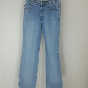 Jeans blue boot cut high-waisted Express